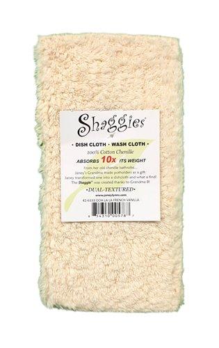 Shaggies French Vanilla Dishcloth Towels