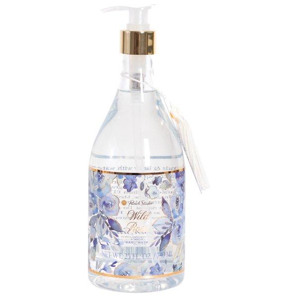 Blue Floral Liquid Soap
