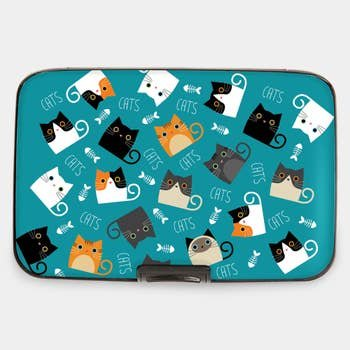 Armored Wallet Cat and Fish