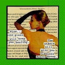 Dance Moves Bev Napkins