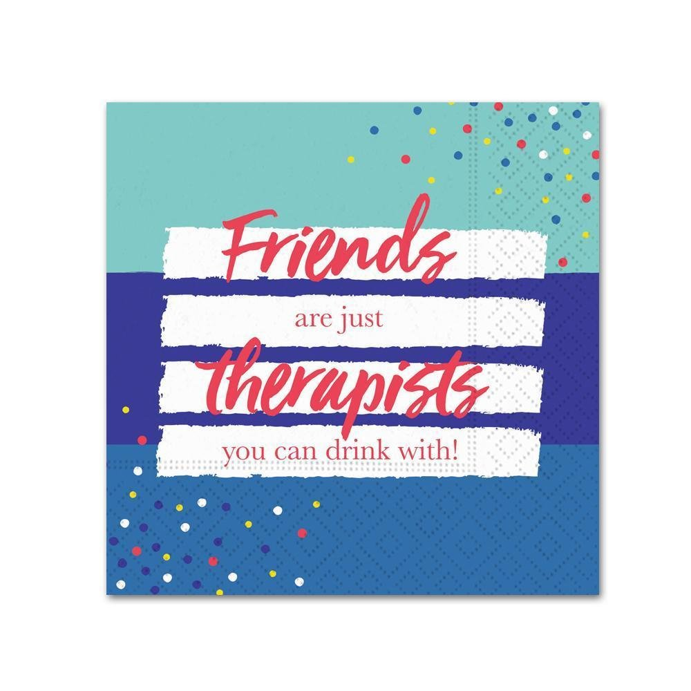 Friends Therapists Bev Napkins