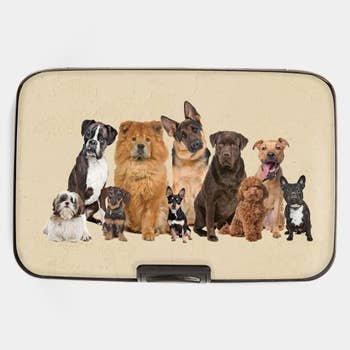 Dog Breeds RFID Armored CC Wallet
