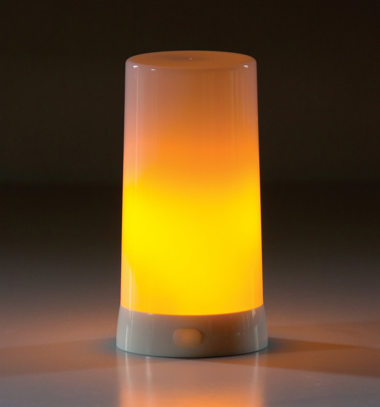 LED Flame Candle w/Timer