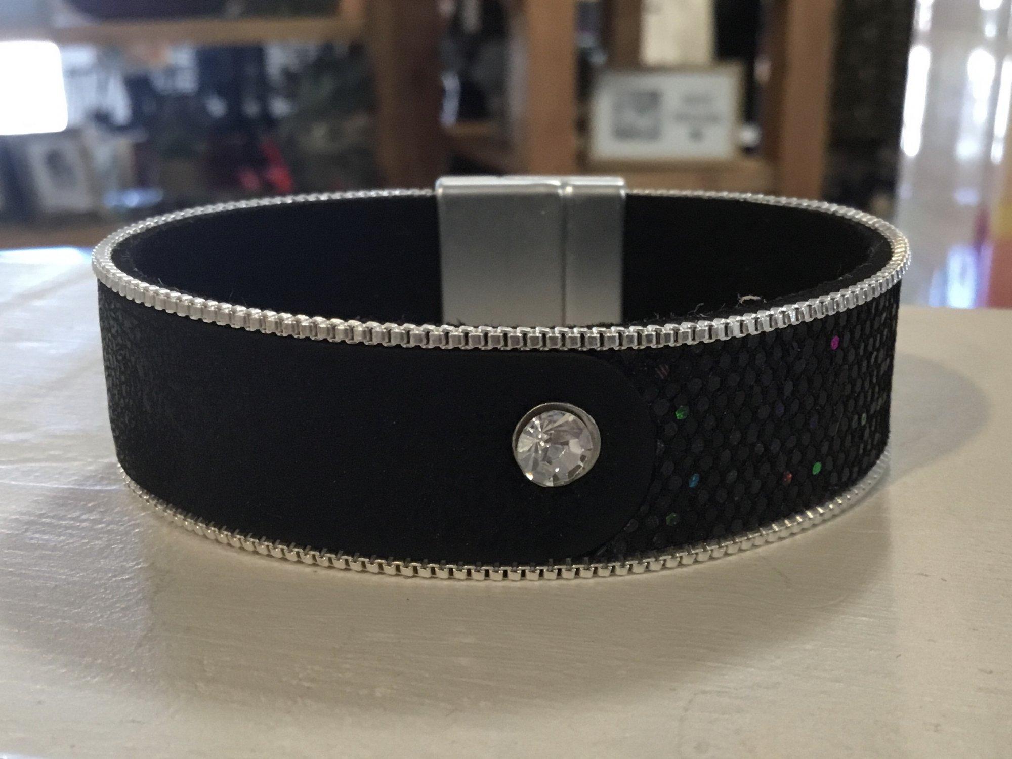 Rhinestone Magnetic Bracelet