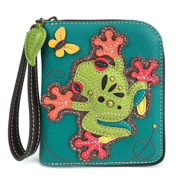 Frog Zip Around Wallet FROG
