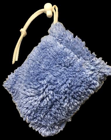 Shaggie Soap Sacs Blue Iris