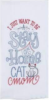 Purr Cat Mom EMB  F/S