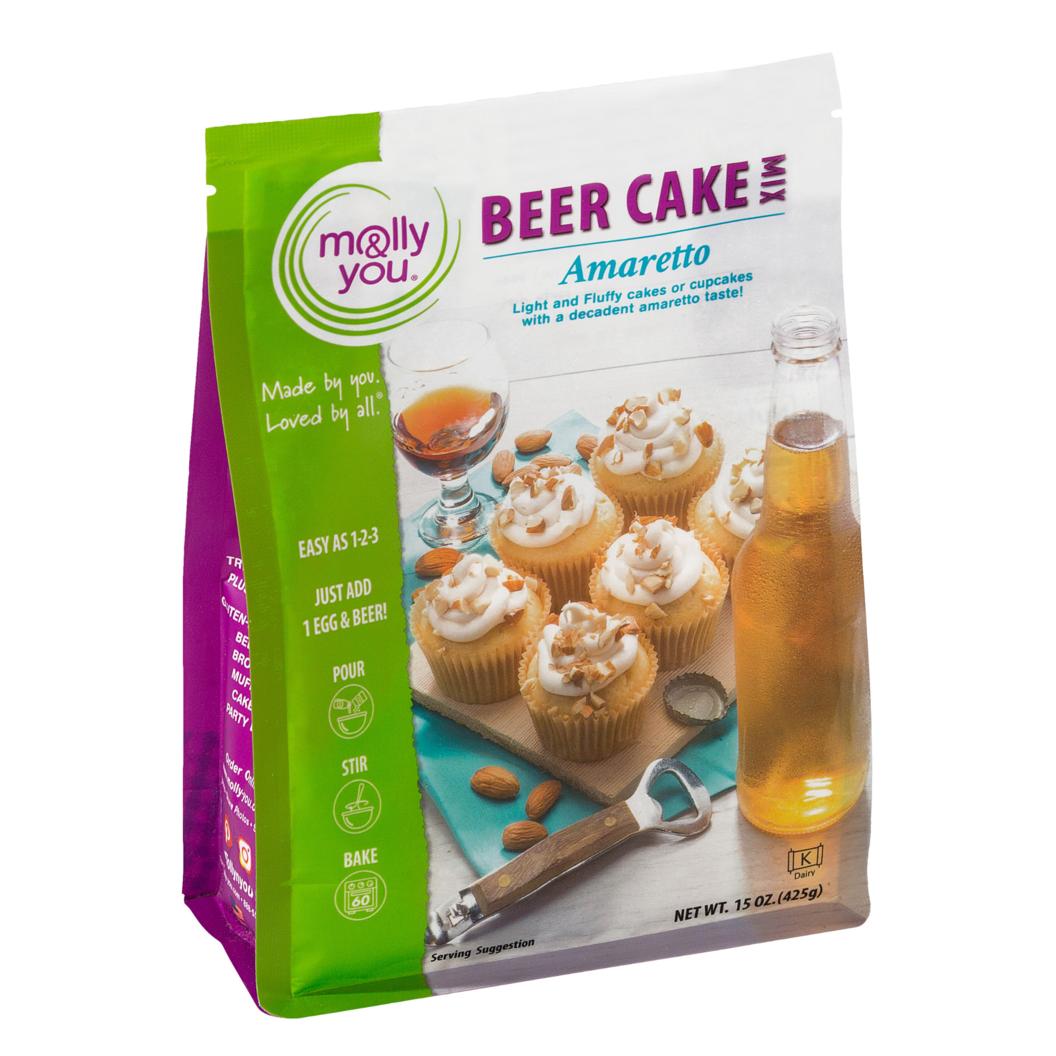 Amaretto Beer Cake Mix