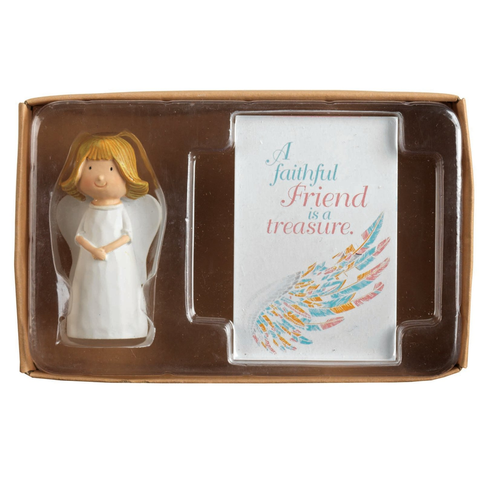 Angel With Folded Hands Faithful Friend Itty Bitty Blessings