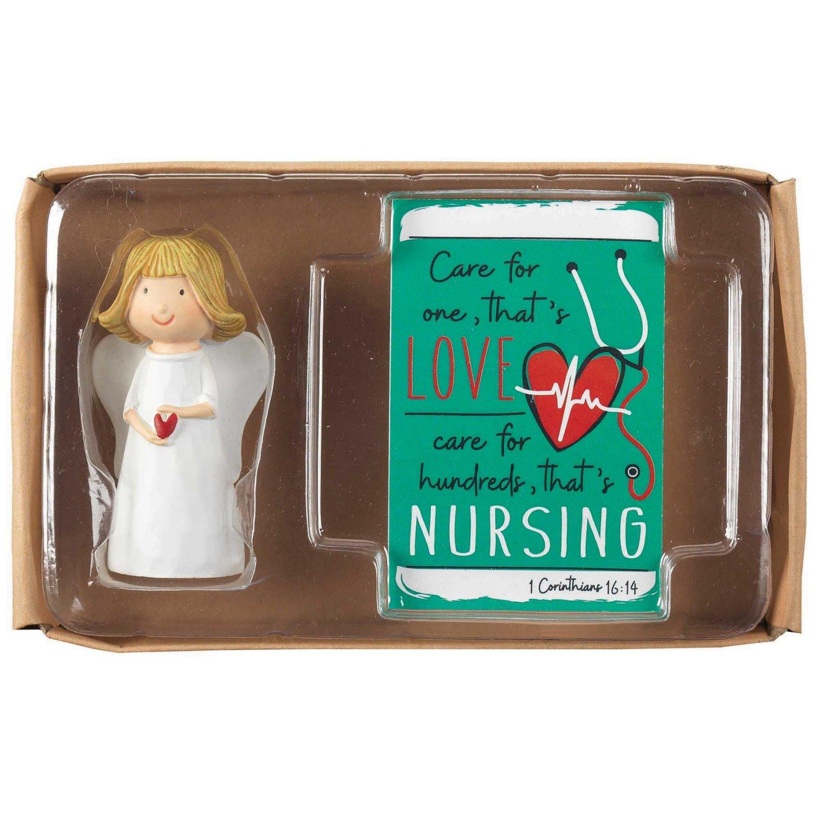 Angel Hrt/Crd Nurse Care For One Rsn