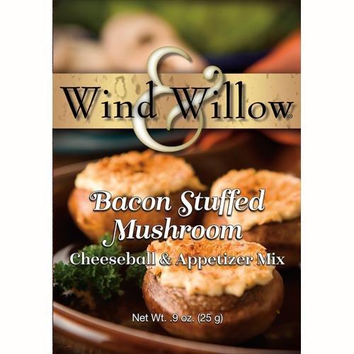 Bacon Stuffed  Mushroom Cheesball/Appetizer Mix