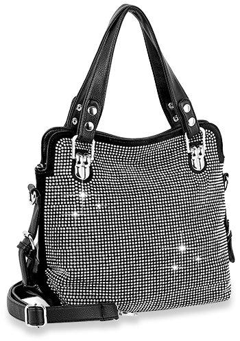 Rhinestone Bling Fashion Handbag