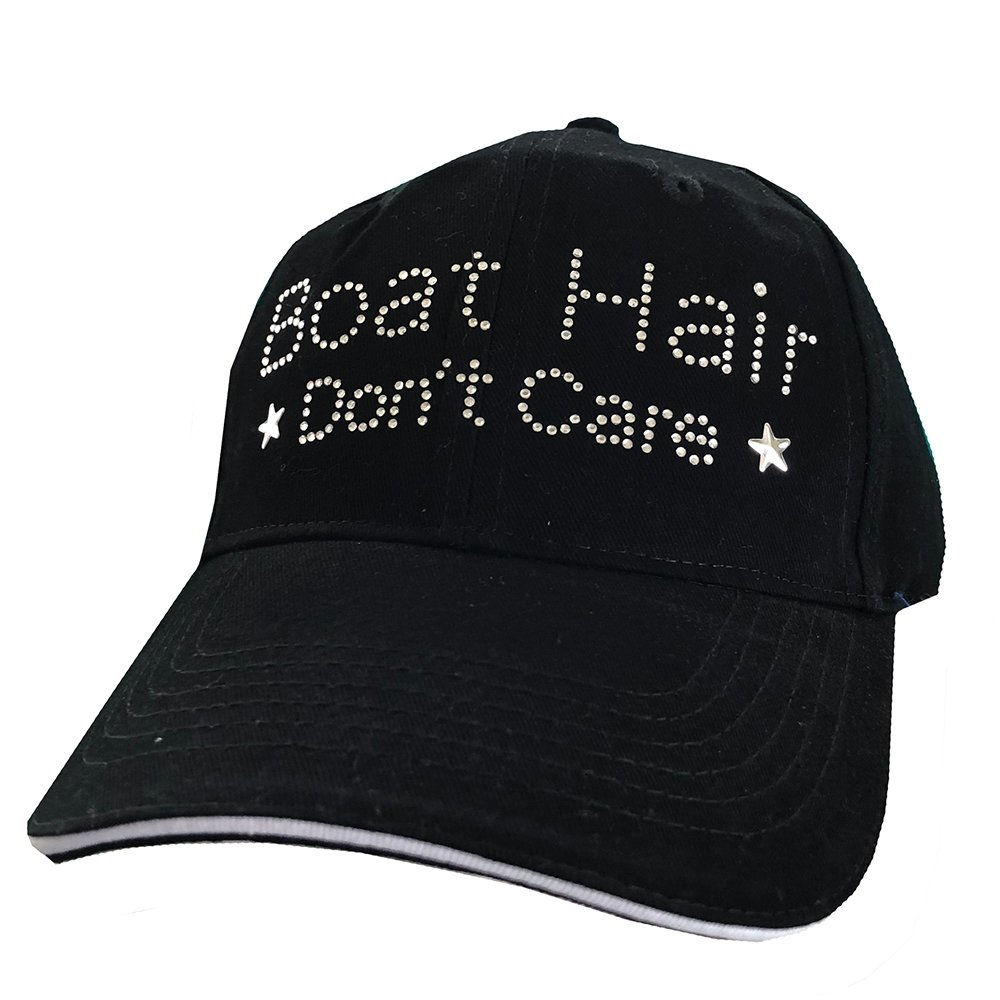 Boat Hair Don't Care Black Mesh