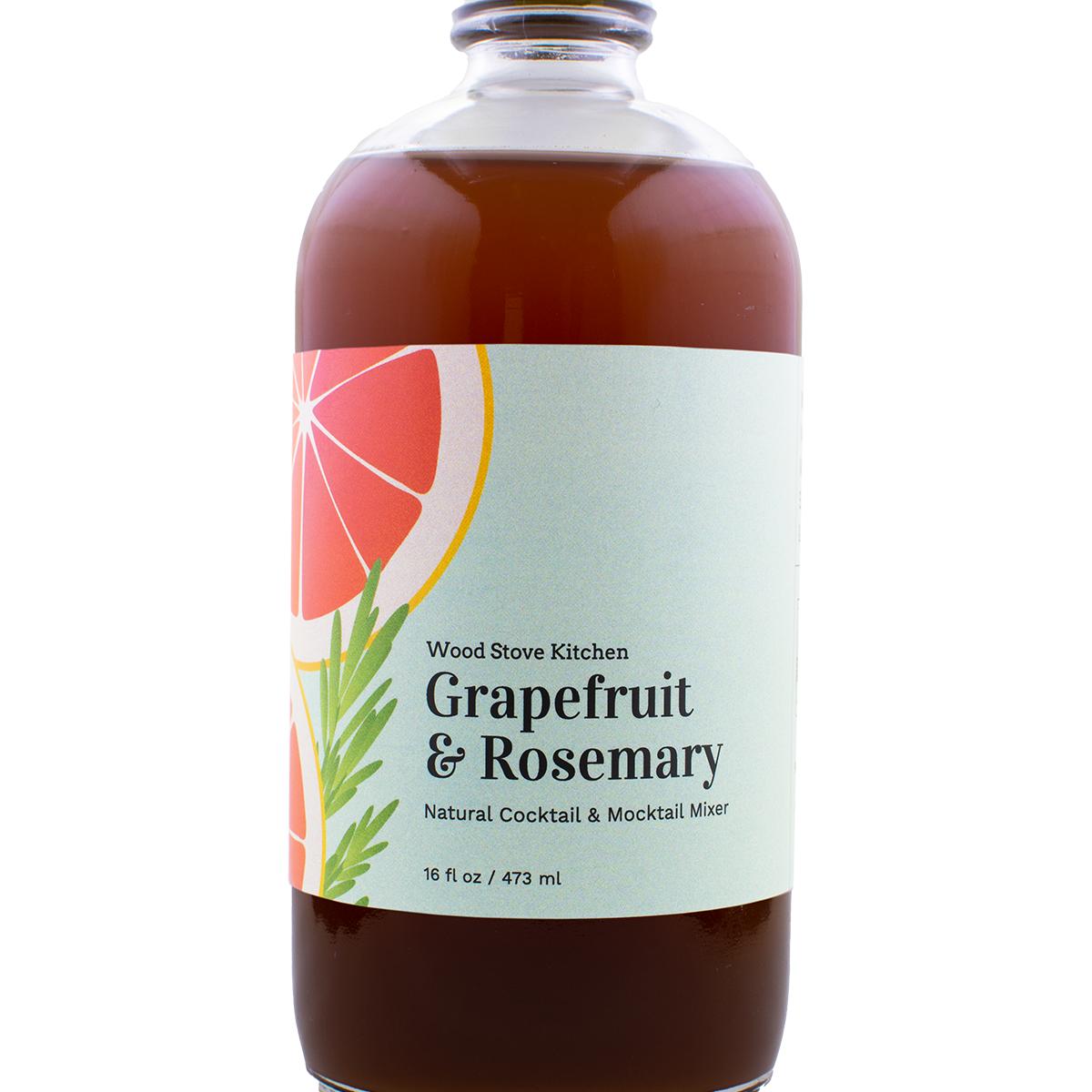 Grapefruit & Rosemary Cocktail Mixer
