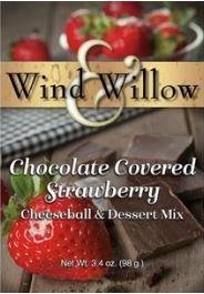 Chocolate Covered Strawberry Cheeseball/ Dessert Mix