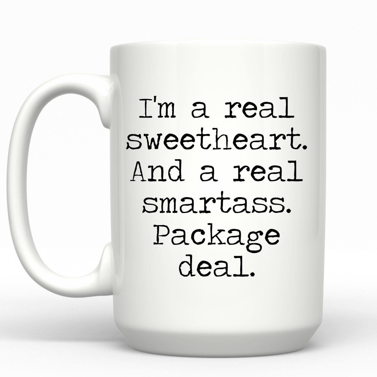 I'm a real Sweetheart Mug