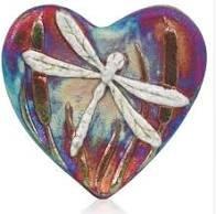Raku Blessed Heart