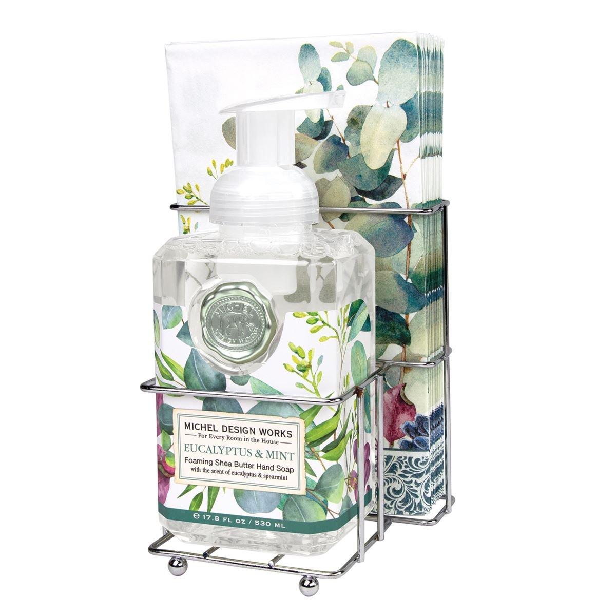 Eucalyptus & Mint Foaming Soap Napkin Set