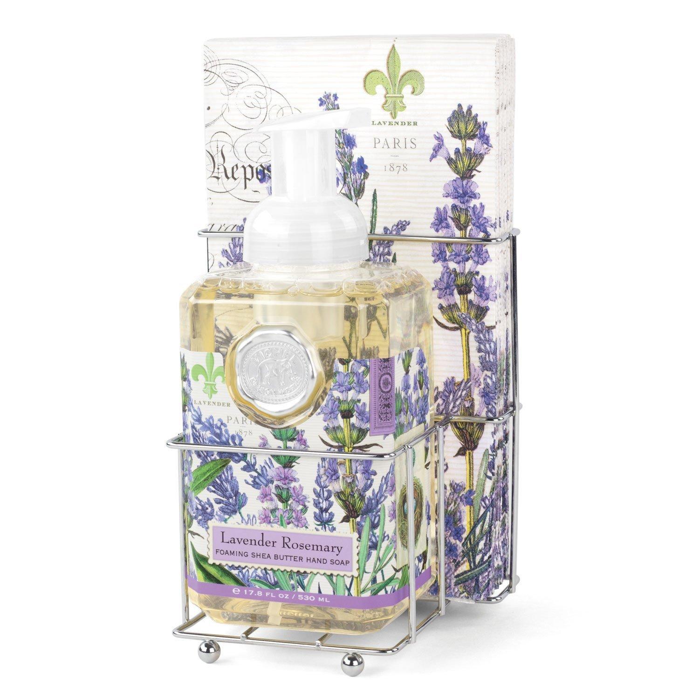 Lavender Rosemary Foaming Hand Soap Napkin Set