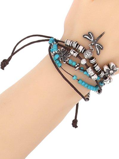 Western Multi Bead Friendship Bracelet