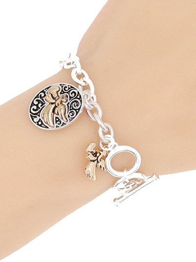 Angel Dangling toggle Amazing Grace Bracelet