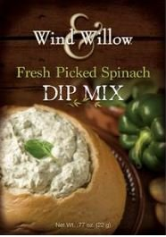 FRESH DIP MIX PICKED SPINACH