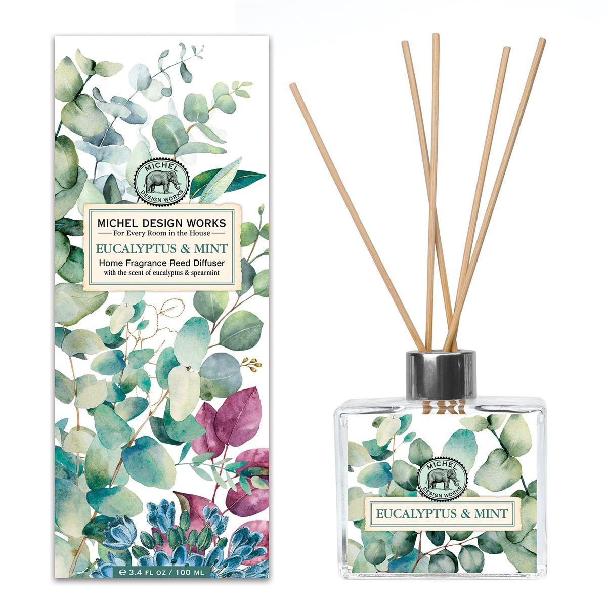 Eucalyptus & Mint Home Fragrance Reed Diffuser
