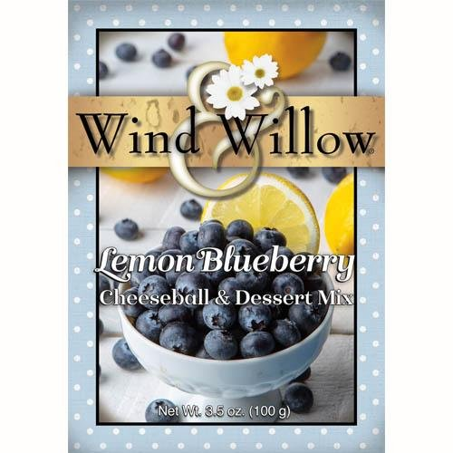 Lemon Blueberry Cheeseball & Dessert Mix