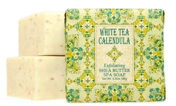 6oz SOAP WHITE TEA CALENDULA