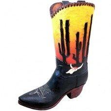 Cactus Boot Vase