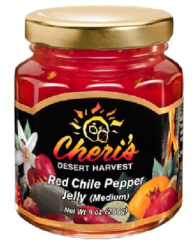 Red Chile Pepper jelly 9oz
