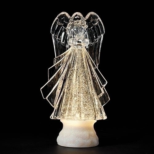 8.75 Led Swirl Angel