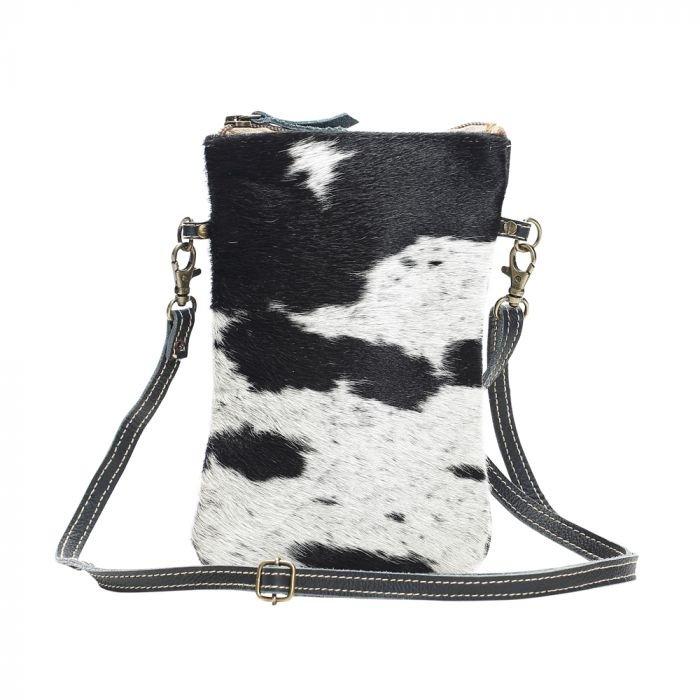 Black &n White Cross Body Bag