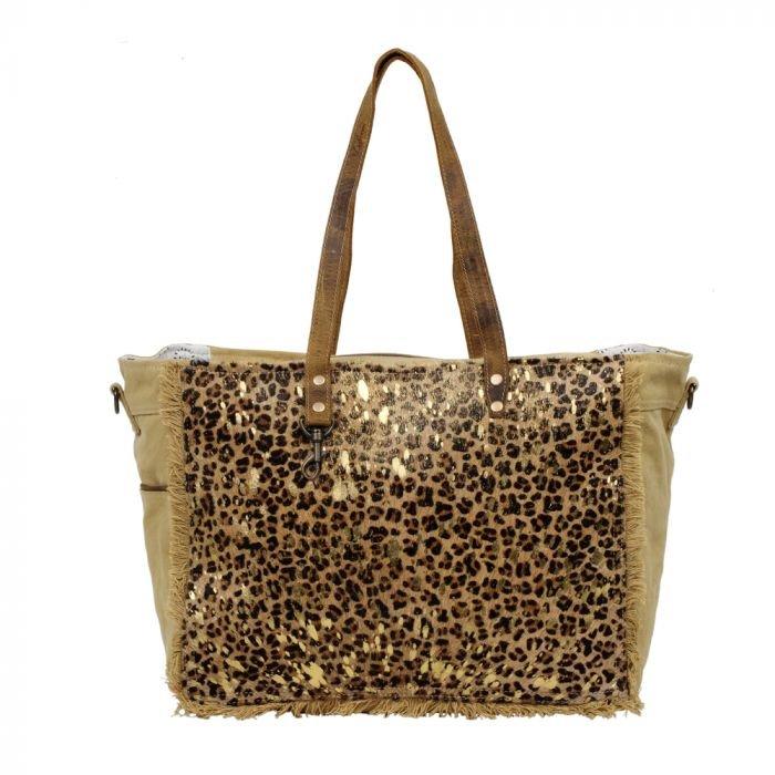 Hunter Canvas Leather Bag