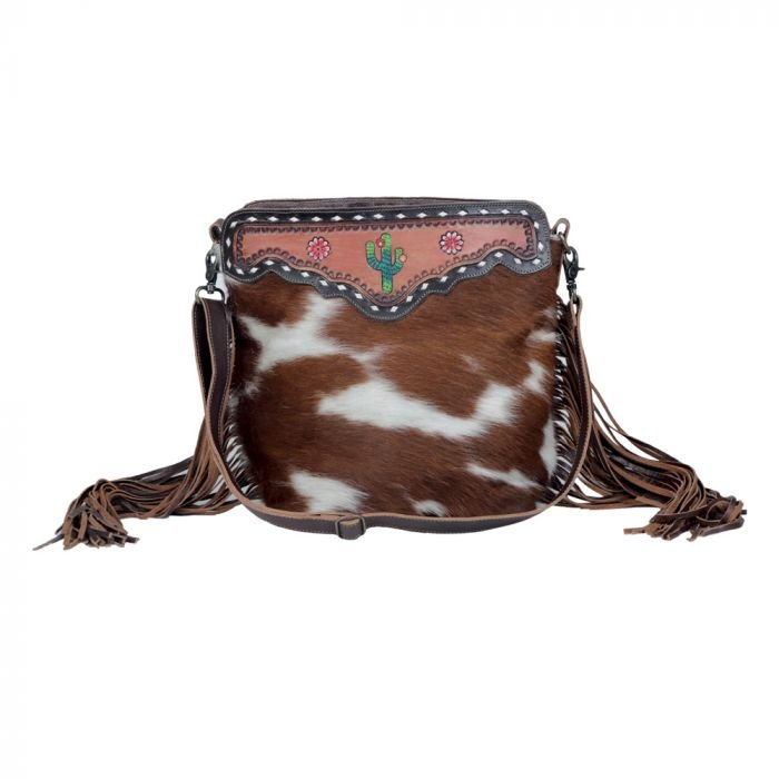 Cutesy Cactushand - Tooled Bag