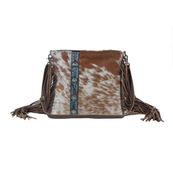 Azure Strip Hand - Tooled Bag