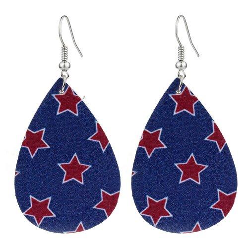 Star Teardrop Earrings