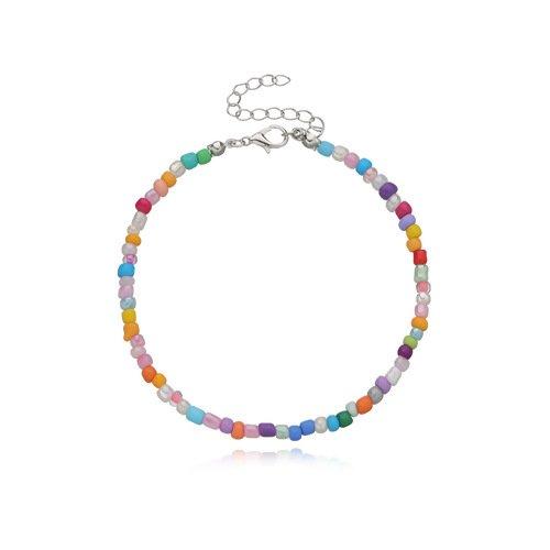 Beaded Anket Bracelet  Mult Colored