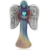 Raku Small Angel Figurine 2.5