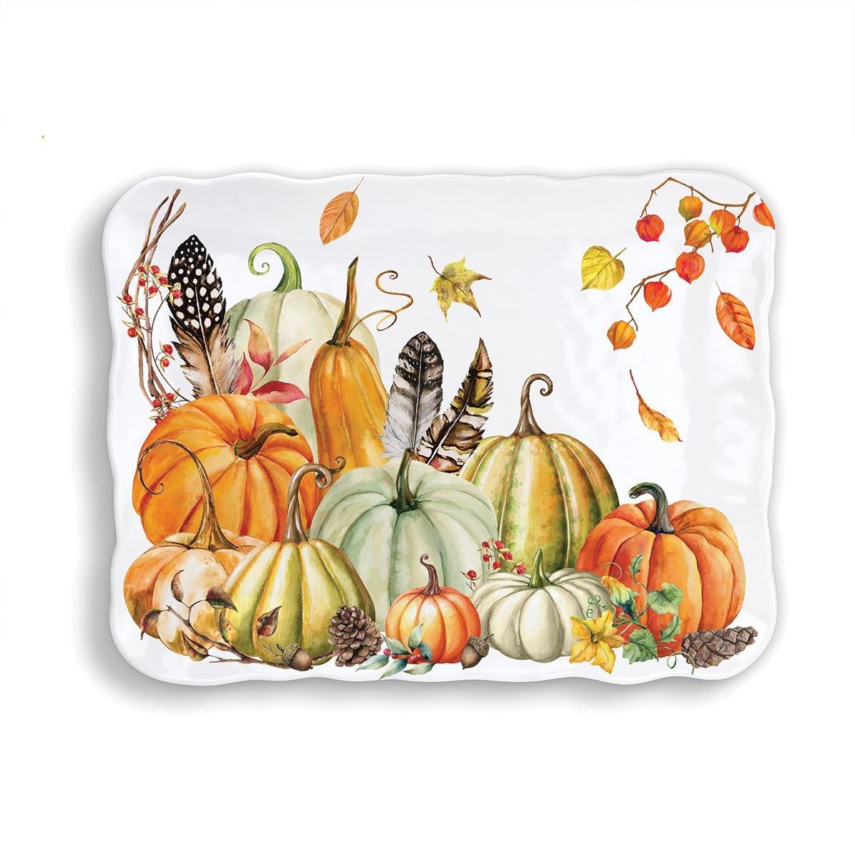 Sweet Pumpkin Melamine Tray