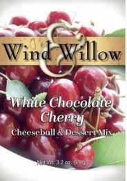 CHERRY WHITE CHOCOLATE CHEESEBALL