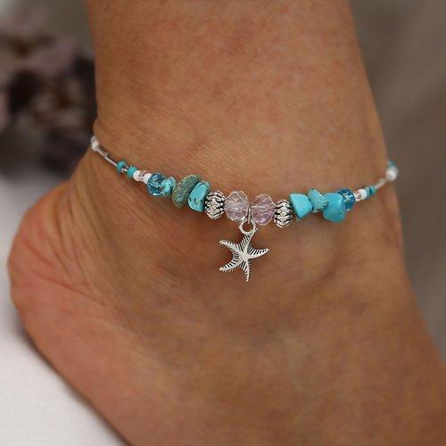 Star Fish Anklet Bracelet