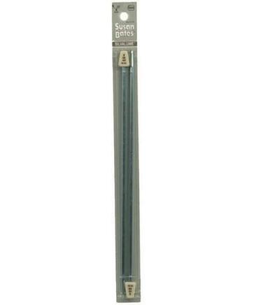 10 Silvalume Single Point Knitting Needles by Susan Bates