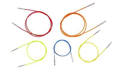 Knitter's Pride  Interchangeable Cords - Colored