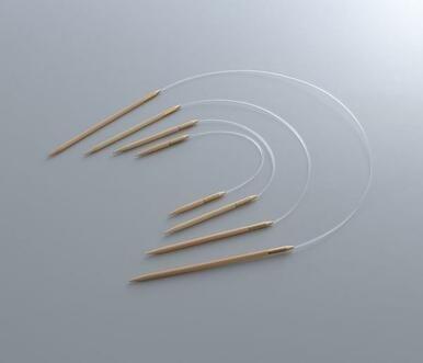 9 Seeknit Circular Knitting Needles by KA Bamboo