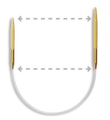 9.5 Seeknit Circular Knitting Needles by KA Bamboo