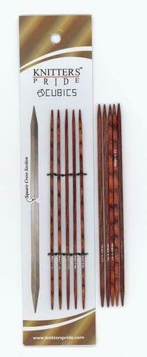 8 Cubics Double Point Knitting Needles by Knitter's Pride