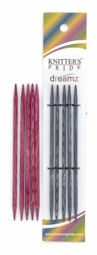 6 Dreamz Double Point Knitting Needles by Knitter's Pride