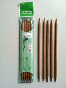 6 Dark Bamboo Double Point by ChiaoGoo