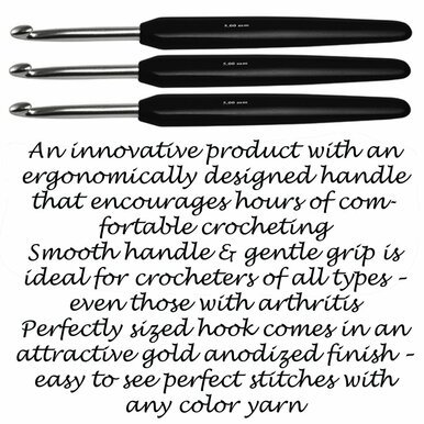 6 Soft Touch Crochet Hook by Knitter's Pride
